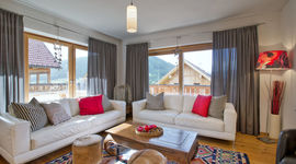Panorama Chalet Weiss