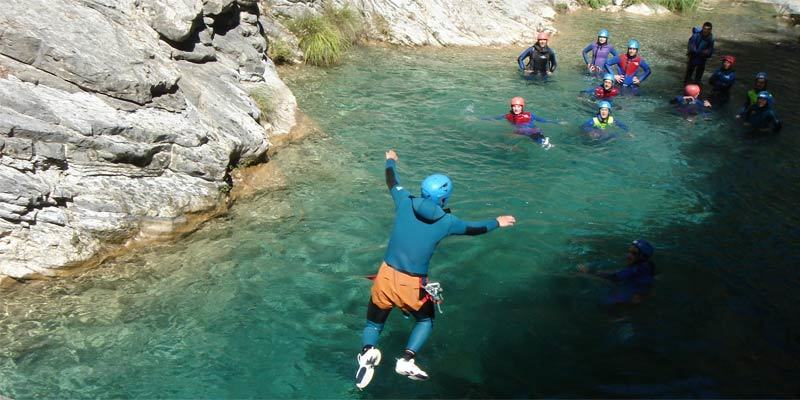 canyoning oostenrijk