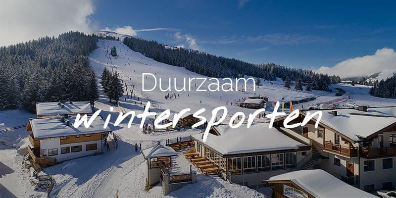 Duurzaam wintersporten