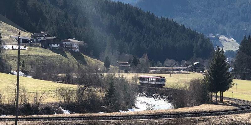 Pinzgauer Lokalbahn landschap