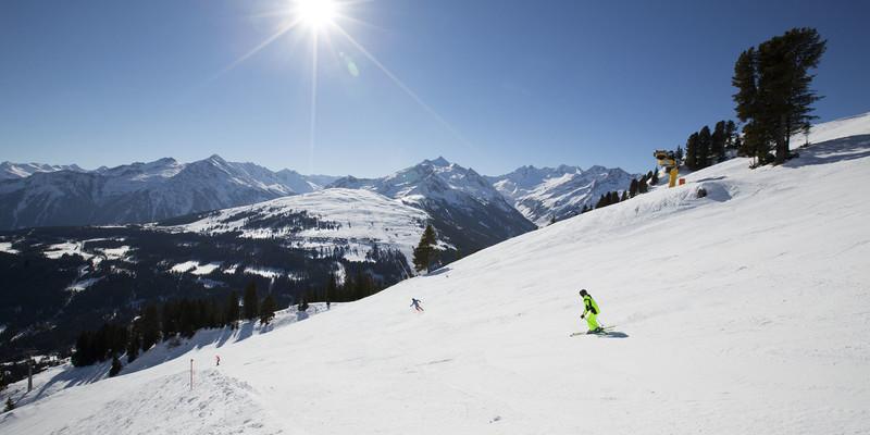 Königsleiten januari wintersport