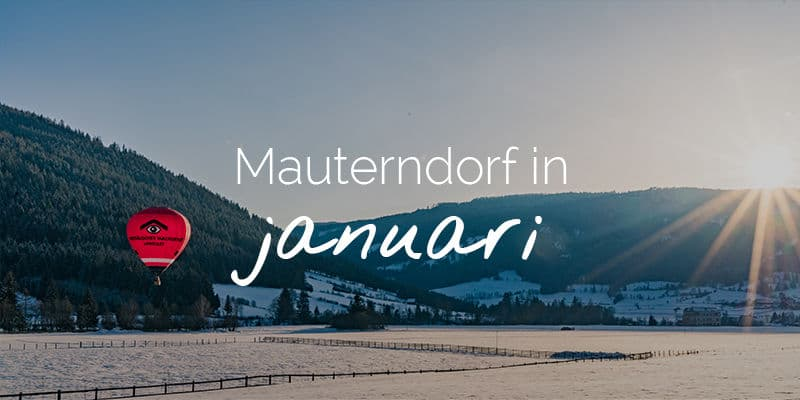 Mauterndorf in januari
