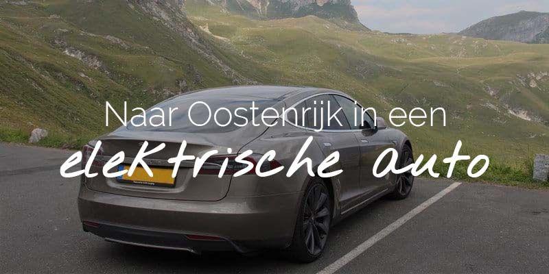 elektrische auto naar oostenrijk