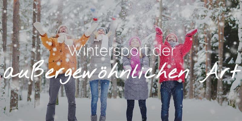 Wintersport der auβergewöhnlichen Art