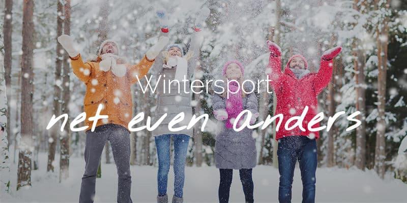 Wintersport voor iedereen