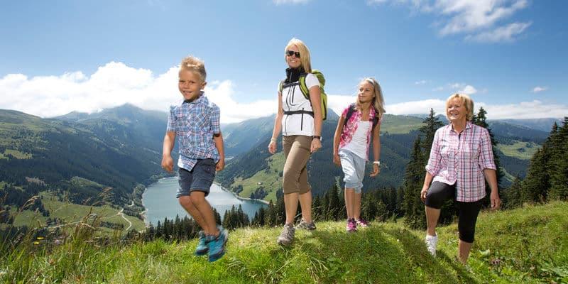 Wandelen bergen Zillertal Arena