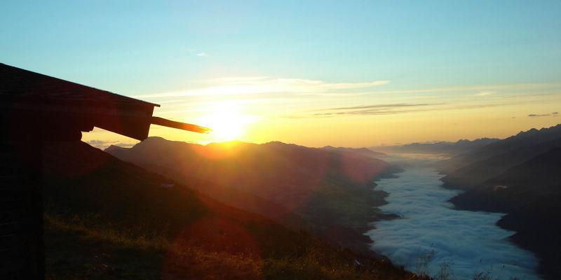 zonsondergang höchkönig
