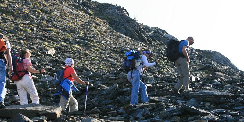 bergwandelaars hochkönig