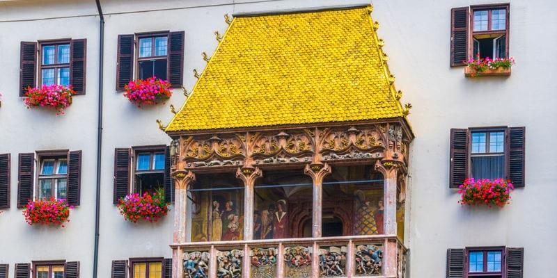 Innsbruck zomer Gouden Dak