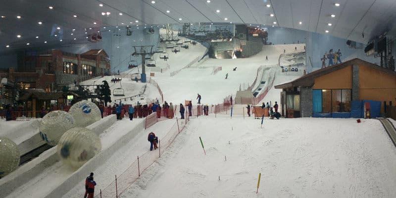 indoor ski piste