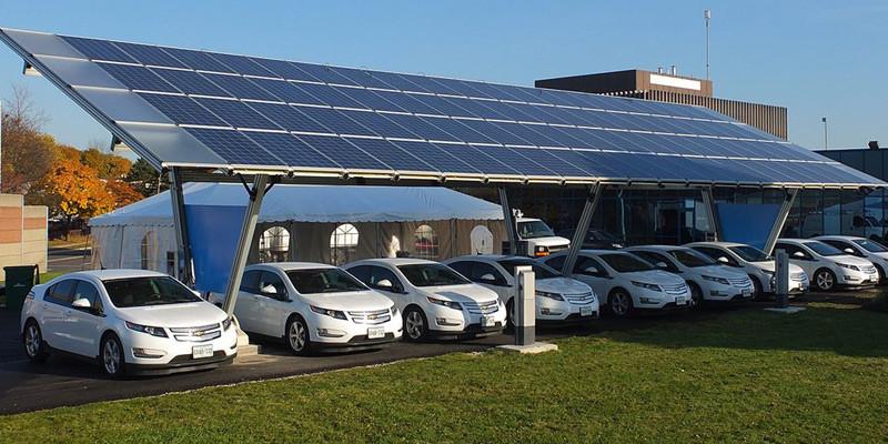 laadstation voor elektrische auto