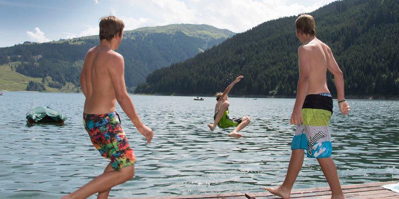 Zwemmen in Zillertal Arena