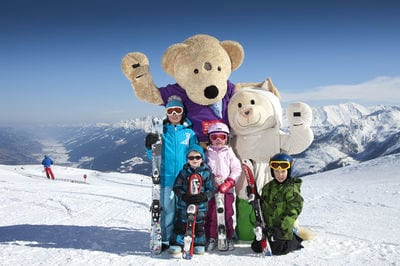 Wildkogel Arena Extremely family-friendly skiing region