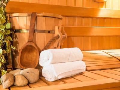 Chalets met sauna