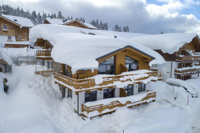 Snowfall Salzburgerland